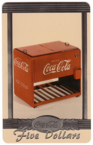Coke National '96 $5. Complete Set of 10 Different Images * SILVER * Phone Card 2