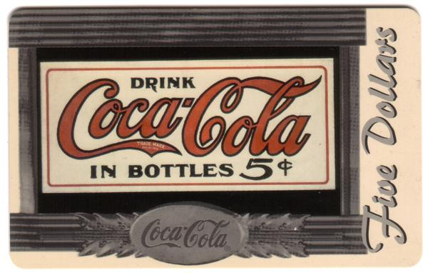 Coke National '96 $5. Complete Set of 10 Different Images * SILVER * Phone Card 5
