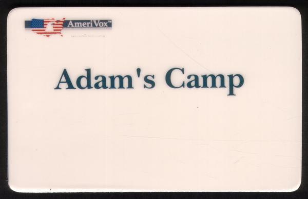 Adam's Camp (Programme für Kinder Mit Spezial Benötigt) Handy Karte