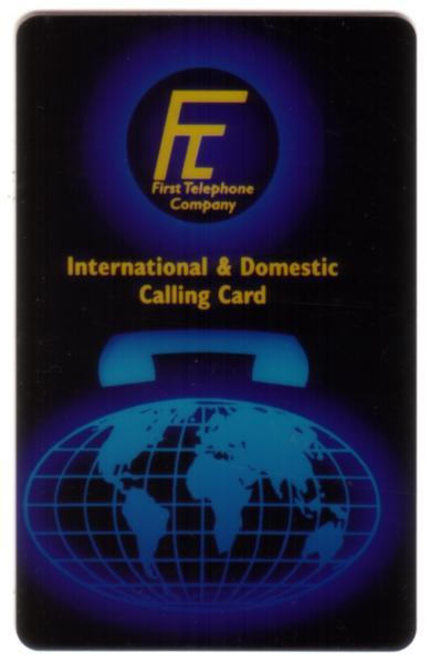Image of 00u 20u 40u Générique Utilisateur Carte avec Globe amp Set 3 Spécimens Téléphone